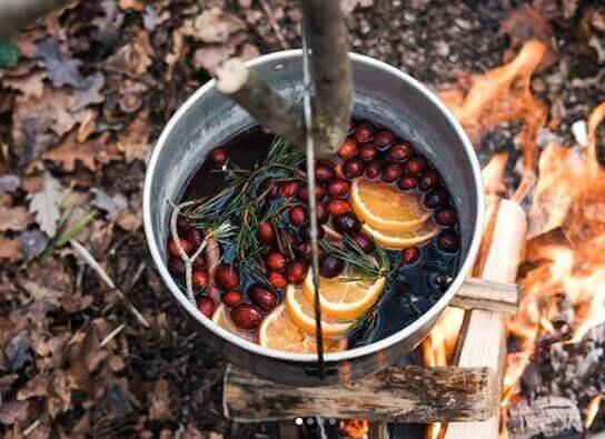 Meyveler ve sebzeler kamplar için en uygun yiyeceklerdir. Bunların ateşte pişmesiyle birlikte harika içecekler ve yemekler elde edebilirsiniz.